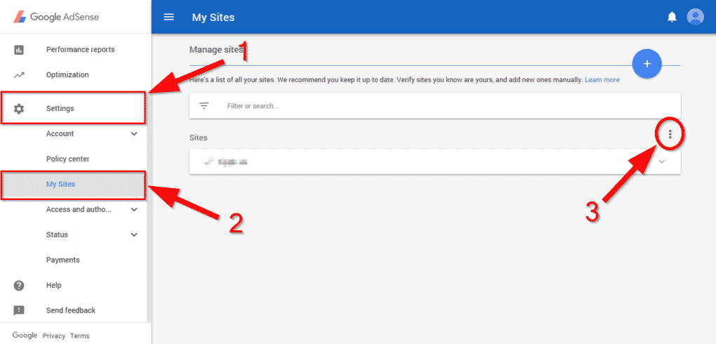 Protect AdSense by Enabling Authorize My Site Feature